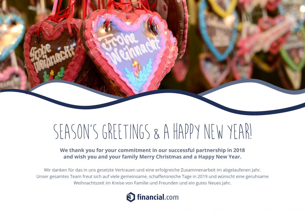 Weihnachtsgrüße Team.Season S Greetings And A Happy New Year Financial Com